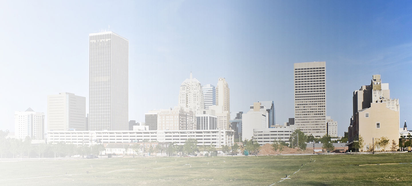 Cityscape of Oklahoma City