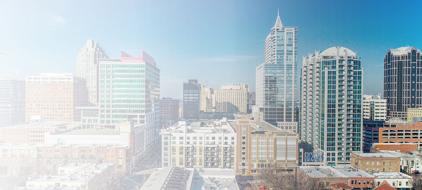 Cityscape of Raleigh