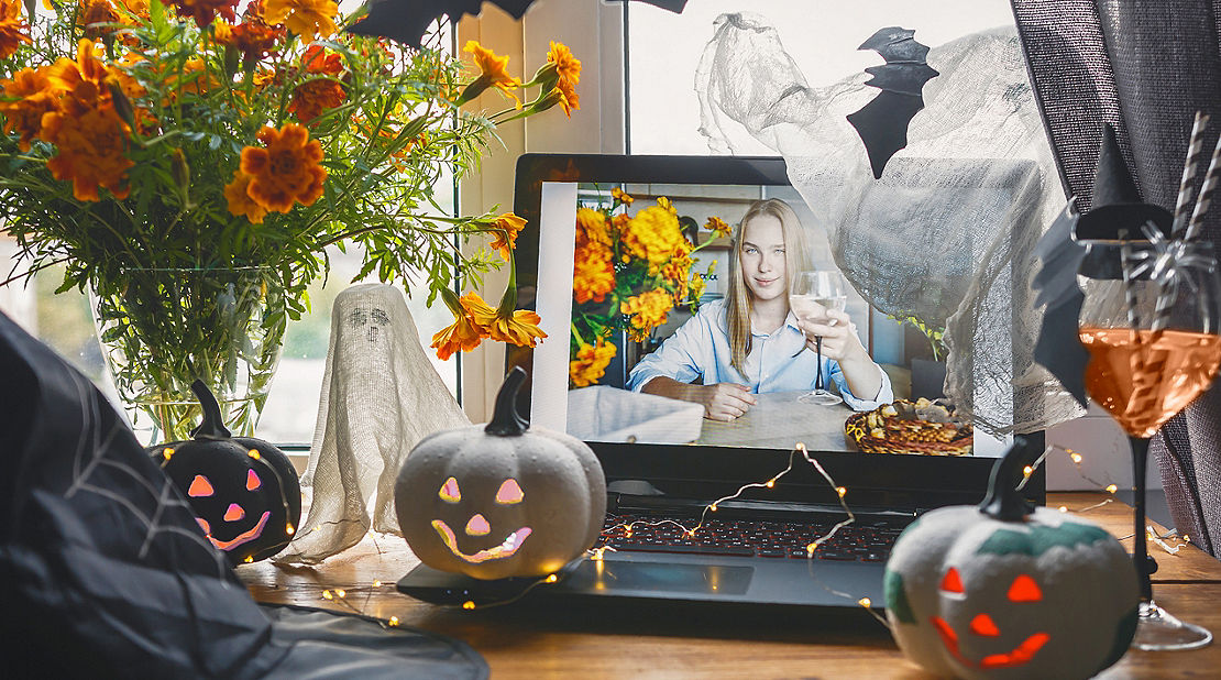 halloween virtual