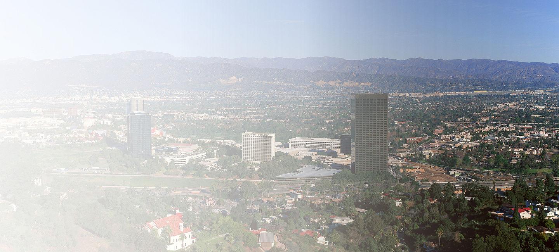Skyline of San Fernando Valley