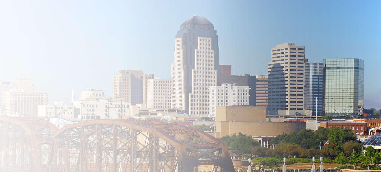 Cityscape of Shreveport