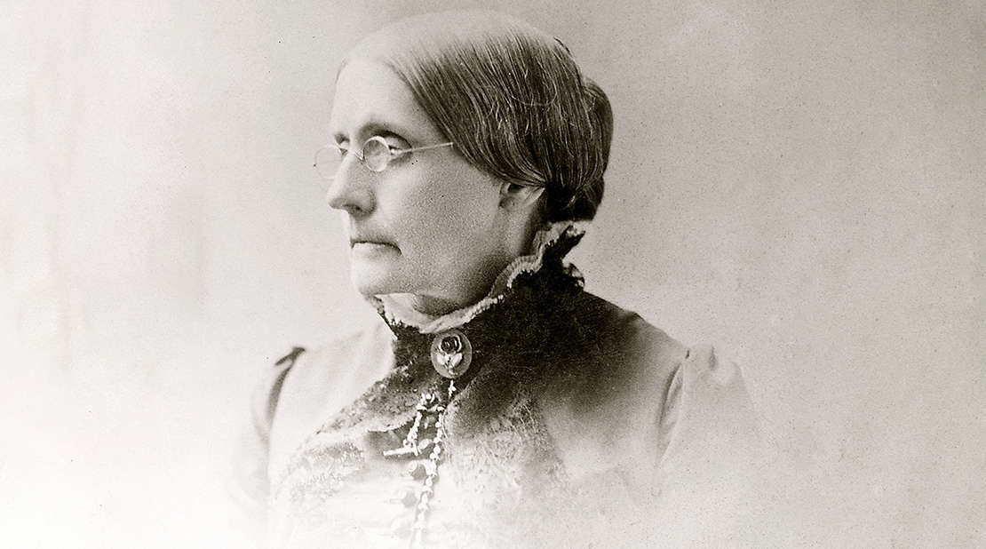 Susan B. Anthony, one of the pioneering women in the history of New York Life