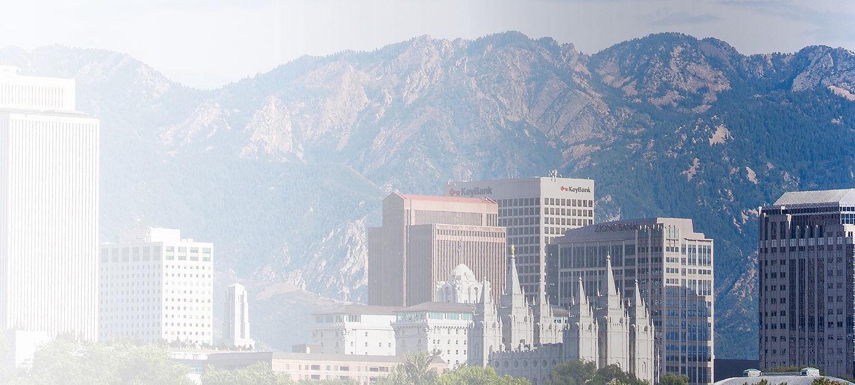 Cityscape of Utah