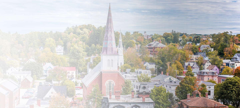 Cityscape of Vermont